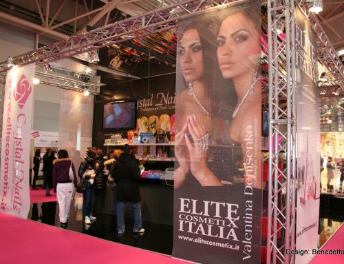 Stand fieristico Crystal Nails